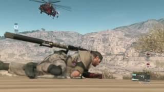 Download MGSV - .50 cal Sniper vs. helicopter Video