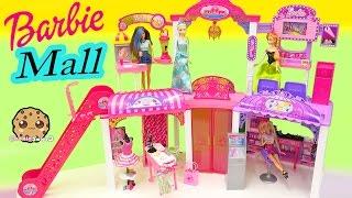 Download Disney Queen Elsa & Princess Anna Shop at Barbie Malibu Mall Playset - Toy Video Cookieswirlc Video