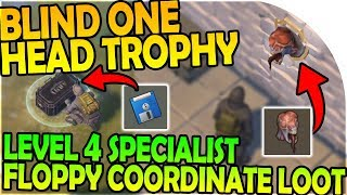 Download THE BLIND ONE TROPHY HEAD + LEVEL 4 SPECIALIST FLOPPY LOOT - Last Day On Earth Survival 1.6.9 Update Video