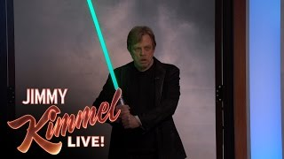 Download Star Wars Fan Adam Scott Surprised by His Idol Mark Hamill Video