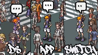 Download The World Ends With You: DS vs Android vs Switch: Ch1 Comparison Video