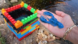 Download MINI LEGO Pond For My Rare Blue Lobster! Video