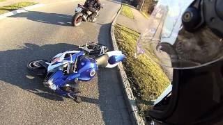 Download Suzuki GSX-R 1000 - Cool Ride Then Fell (Crash) Video