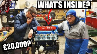 Download 🐒 OPENING A £20,000 (CLAIMED) RACE ENGINE BUILD! MOUNTUNE ENGINE STRIP Video