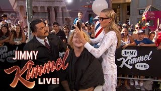 Download Guillermo & Cara Delevingne Give Summer Haircuts to Pedestrians Video