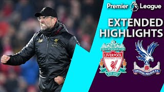 Download Liverpool v. Crystal Palace   PREMIER LEAGUE EXTENDED HIGHLIGHTS   1/19/19   NBC Sports Video