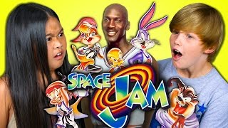 Download KIDS REACT TO SPACE JAM (20th Anniversary) Video