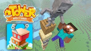 Download Monster School : Tower with Friends Challenge - Minecraft Animation Video