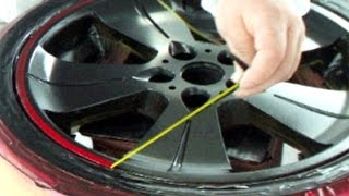 Download How to Repair Your Car Wheels & Paint Rims / Candy Red & Black カスタムペイント・キャンディー塗装 Video