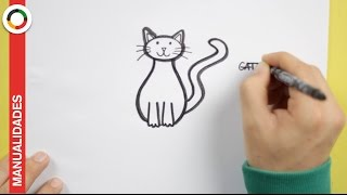 Download Aprende a dibujar un gato fácilmente Video