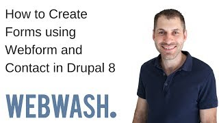Download How to Create Forms using Webform and Contact in Drupal 8 Video