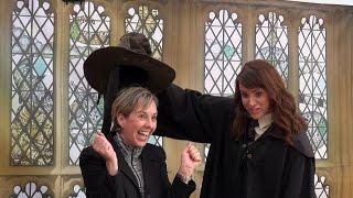 Download SORTING HAT - All 4 Houses - Gryffindor Hufflepuff Ravenclaw Slytherin - Celebration Of Harry Potter Video
