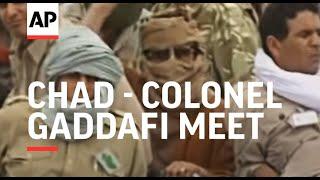 Download Chad - Colonel Gaddafi meet Video