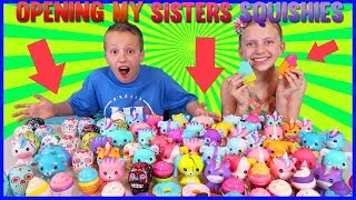 Download Opening ALL My Sister's Squishies!! Video