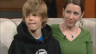 Download Justin Bieber - First time on Television - 100 Huntley Street Video