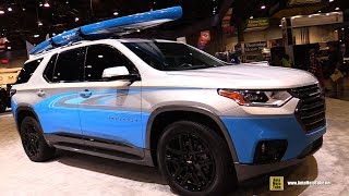 Download 2018 Chevrolet Traverse Stand up Paddleboard Concept Vehicle - Walkaround - 2017 SEMA Video