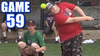 Download HITTING YOURSELF IN THE HEAD! | On-Season Softball Series | Game 59 Video