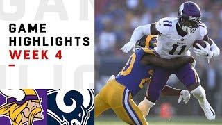 Download Vikings vs. Rams Week 4 Highlights | NFL 2018 Video