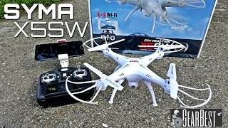 Download Syma X5SW Quadcopter - [Unboxing & Review] - 6 Axis - 2.4GHz - WIFI - FPV - 2MP Camera Video