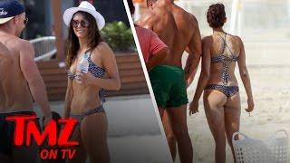 Download Nina Dobrev Chugs Vodka On The Beach! | TMZ TV Video
