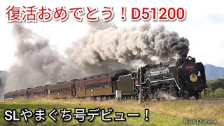 Download 【祝】D51200復活! SLやまぐち号 2017.11.25 Video