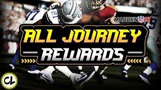 Download EVERY JOURNEY REWARD! ELITE PULLS! Madden 18 Ultimate Team Video