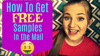 Download How to Get FREE Samples in the Mail! 2017 Video