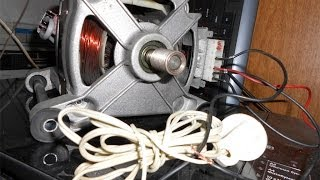 Download Как подключить двигатель от стиральной машины к 220 Video