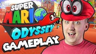 Download Super Mario Odyssey Gameplay - Sand Kingdom Demo Video