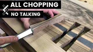 Download Wood Inlay—No Talking—How to Woodworking Video