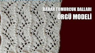 Download BAHAR TOMURCUK DALLARI Örgü Modeli - Şiş İle Örgü Modelleri Video