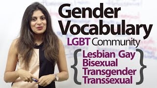 Download Gender Vocabulary (Talking about the LGBT community) – Free Spoken English Lesson Video