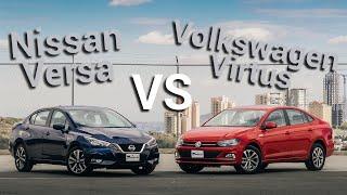 Download Nissan Versa VS Volkswagen Virtus - ¿Cuál es mejor? | Autocosmos Video