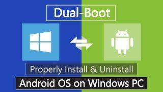 Download How to Install Android Nougat 7.1 on PC | Dual Boot Video