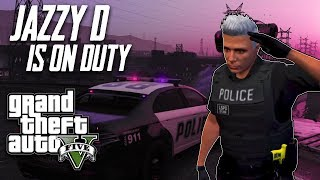 Download Our First ever DAY STREAM - GTA 5 Role Play Live Stream - Officer Jazzy patrolling ! Video