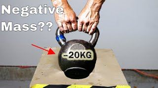 Download What if You Try To Lift a Negative Mass? Mind-Blowing Physical Impossibility! Video