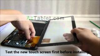 Download 10.1″ Allwinner A83T A33 A64 A20 Tablet Disassembly: Touch Screen LCD Replacement Video