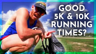 Download What are GOOD 5k & 10K RUNNING times for TRIATHLETES? Video