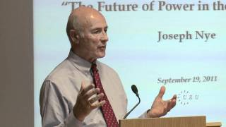 Download Joseph Nye on global power in the 21st century, the full lecture at Central European University Video
