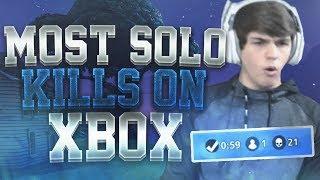 Download 21 Kill Solo win! Xbox World Record?! INSANE Fortnite Battle Royale! 🔥💯 Video