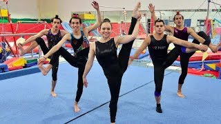 Download FUNNY GYMNASTICS COMPETITION! Video