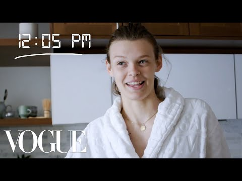 How Top Model Cara Taylor Gets Runway Ready | Diary of a Model | Vogue