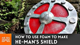 Download He-Man's Shield from floor mats // How-To Video