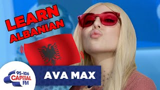 Download Ava Max Teaches Us How To Speak Albanian 🇦🇱 | FULL INTERVIEW Video