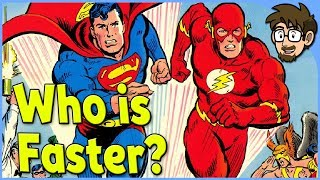 Download Theory: Is Superman Faster Than The Flash? Video