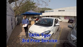 Download 3rd FREE Service | TATA Tigor | Detailed service review and Cost ₹ ??? Video