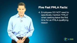 Download Five Fast Facts About FMLA (Family and Medical Leave Act) Video