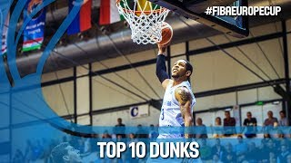 Download Top 10 Dunks of the 2018 Season | FIBA Europe Cup 2017-18 Video