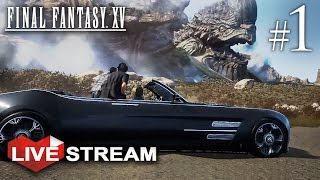 Download Final Fantasy 15 | Open World Road Trip! | PS4 Pro Gameplay Live Stream (FF XV) Video