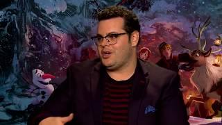 Download Olaf's Frozen Adventure Josh Gad Interview Video